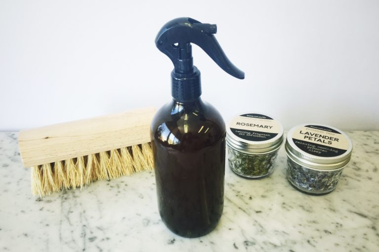 Make Your Own Herbal-Infused Vinegar All Purpose Cleaner