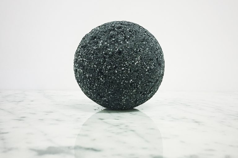 Vegan Black Bath Bomb - DIY Skin Care - Biome Naked Natural Beauty Bar
