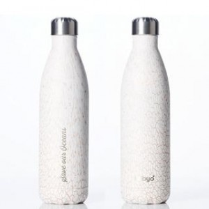 Reusable coffee cups and bottles - BBBYO stainless steel insulated water bottle