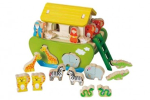 EverEarth Noah's Arc shape sorting toy
