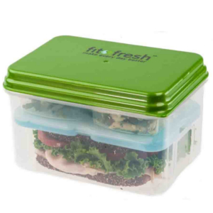 How to pack a nude food lunch - Fit & Fresh container with ice pack