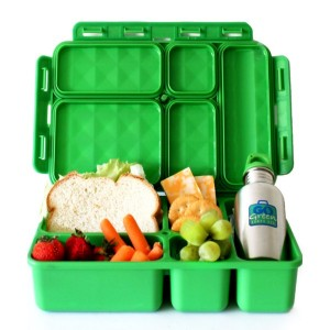 Back to school lunch box ideas - Go Green lunch box with case and water bottle
