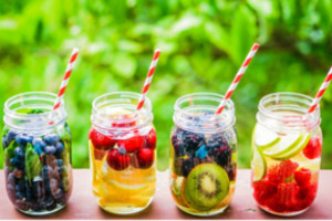 4 Infused Water Recipes for Summer