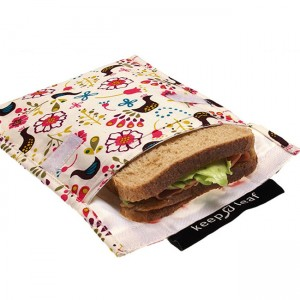 How to pack a nude food lunch - sandwich pouch