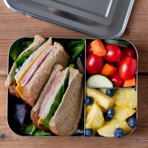 How to pack a nude food lunch - Lunchbots bento box