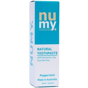Natural Toothpaste, Palm Oil Free Fluoride Free - Numy Naturals Natural Whitening Toothpaste