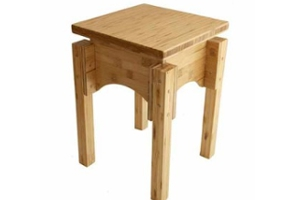 S.E.A.T wooden stool – small but mighty.