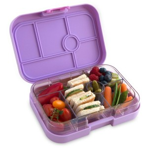 How to pack a nude food lunch - Yumbox lunch box