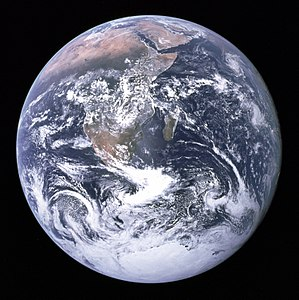 Blue Marble image of Earth