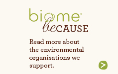 Read more about the environmental organisations we support.