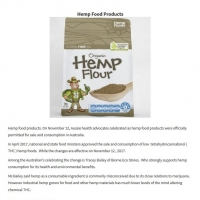 Hemp food approval brings eco-friendly superfood to table