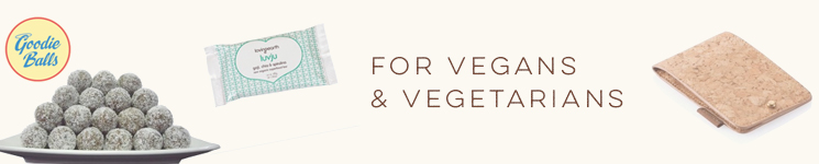 Gifts for vegans and vegetarians