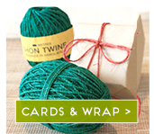 Eco Christmas cards and wrap