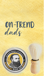On trend fathers day gifts