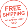 Free shipping on orders over $50*
