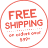 Free shipping on orders over $99*