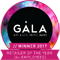 GALA Award - Winner 2017 Retailer of the year 6+ employees