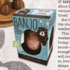 Banjo Allergy free Carob Easter egg